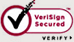 VeriSign Secured. Click to Verify.